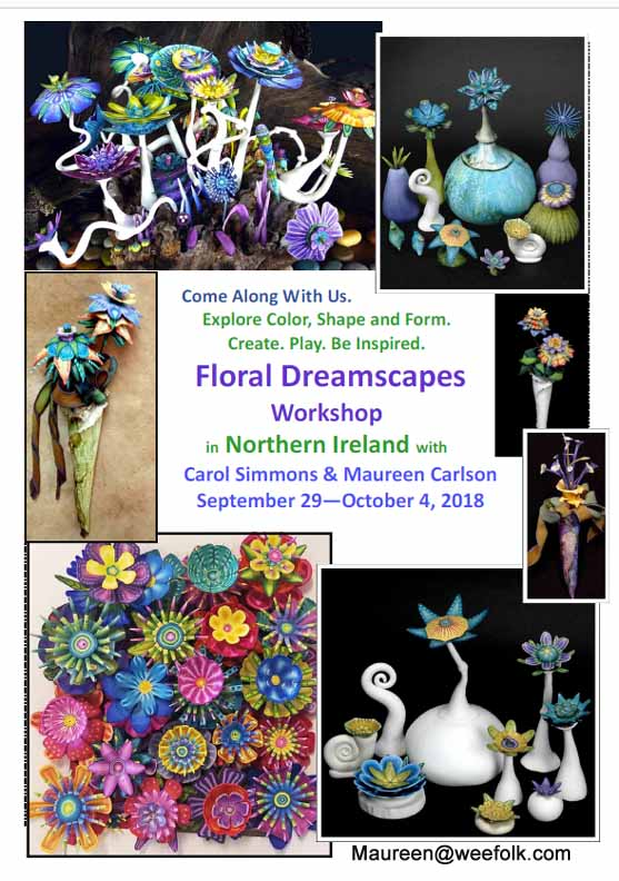Floral Dreamscapes Class in Ireland