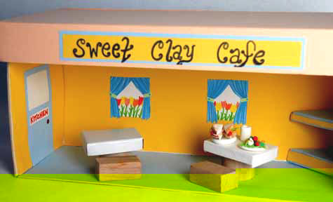 Shoebox Shop: Cafe